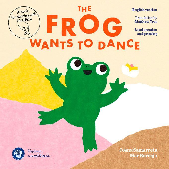 the frog wants to dance
